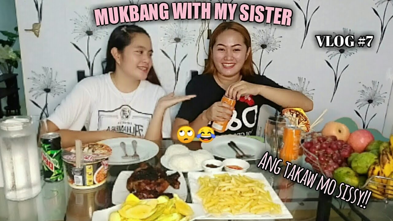 MUKBANG WITH MY SISTER|QuenlyMendros