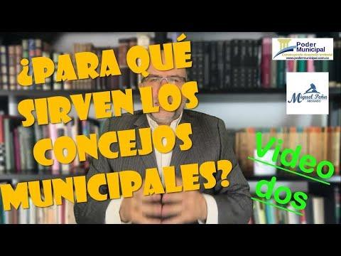 Video dos - Funciones constitucionales de los concejos municipales