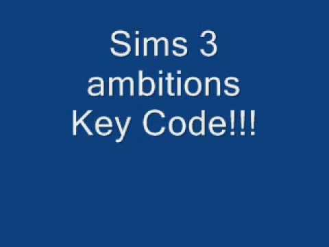 Sims 3 ambitions registration code
