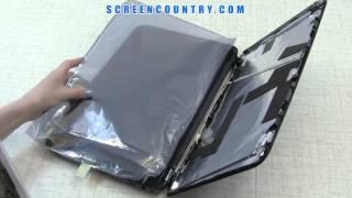 Laptop screen replacement on HP Pavilion G6 / LCD installation on HP Pavilion G6 laptop