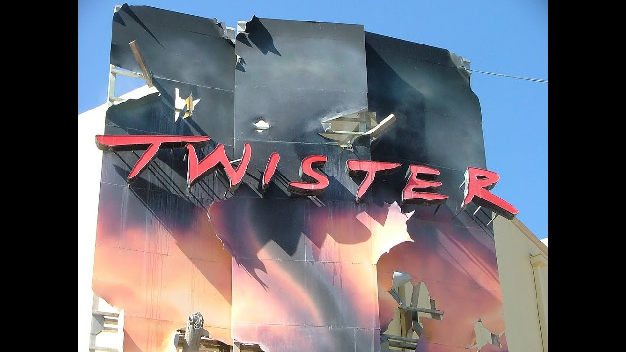 Twister... Ride It Out! Full History - Behind The Scenes ...Universal Studios Twister