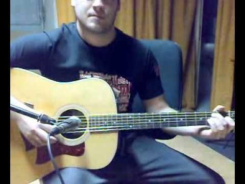 Testing Taylor 210 e acoustic guitar