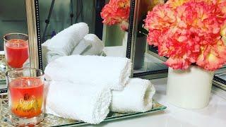 Ideas para decorar un baño pequeño en primavera con poco dinero y accesorios del dollar tree thumbnail