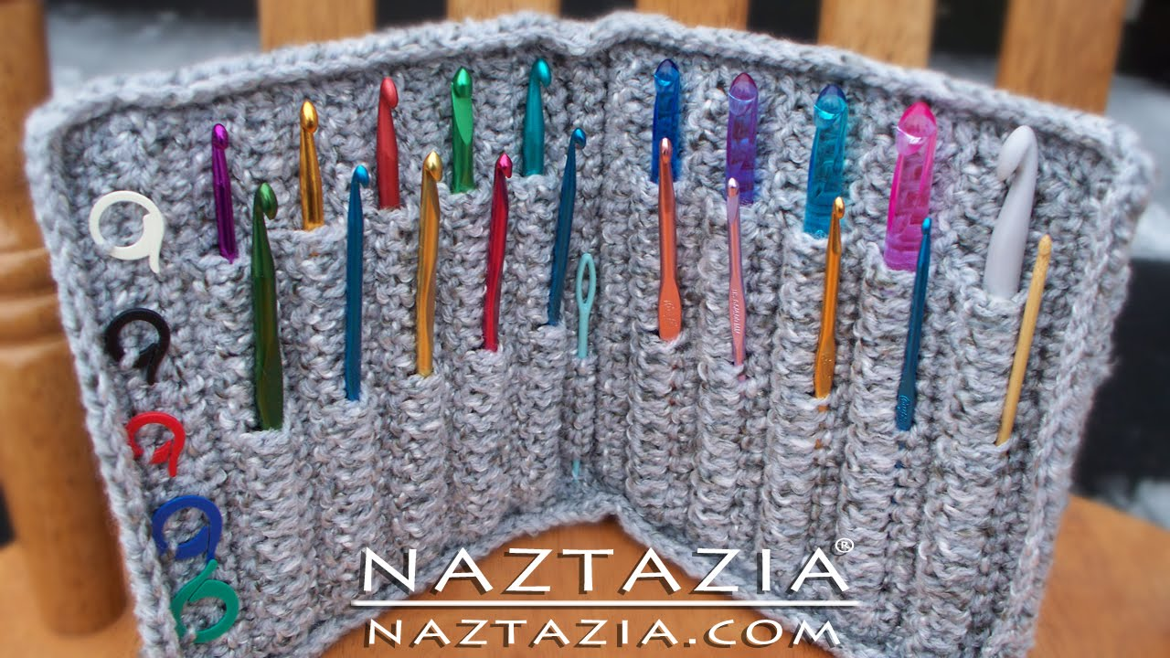 Diy Learn How To Crochet Hook Case Holder Folder Wallet