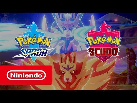 Pokémon Spada e Pokémon Scudo – Trailer di presentazione (Nintendo Switch)