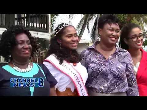 Miss Guyana UK Visits New Amsterdam