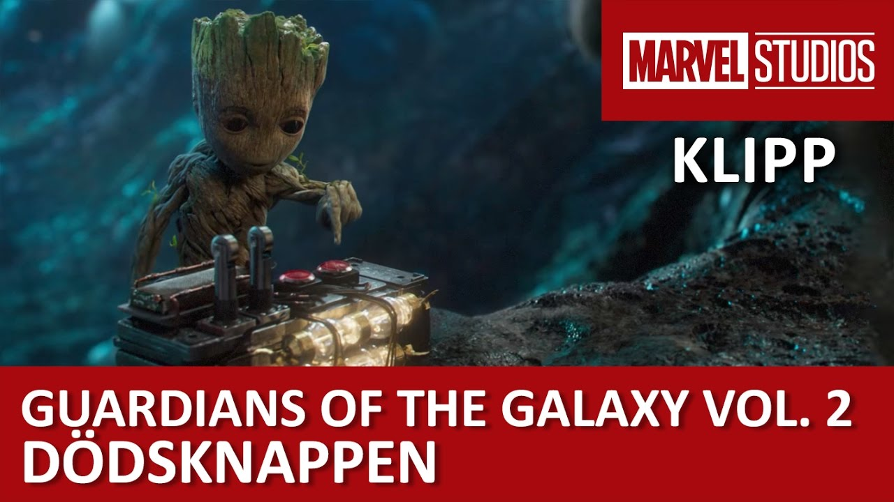 Tryck inte på knappen! | Guardians of the Galaxy Vol. 2