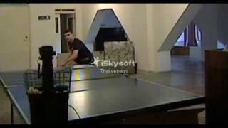VTS_4. ТРЕ-КА с Donic Robo-Pong  (по 4 м точкам)