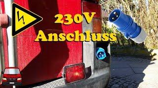 230V Anschluss im Bulli - VW T4 Umbau zum Camper #13