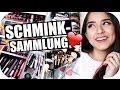 KOMPLETTE SCHMINKSAMMLUNG - Update 2017 - Make Up Collection - Organisation Ideen | Sanny Kaur
