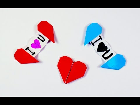 How to make a paper Heart with Message