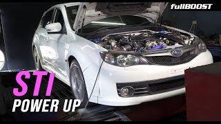 Tuning a Subaru STi on pump fuel | fullBOOST