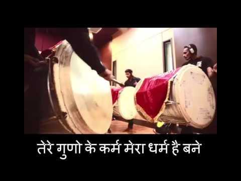 ganpati bappa majha, Adarsh shinde 2016.