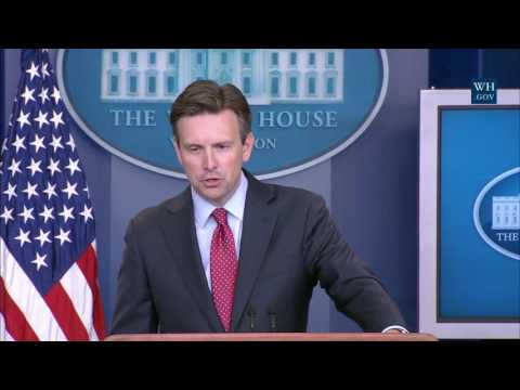 8/22/16: White House Press Briefing