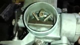 Ajuste de ahogador de carburador de vocho