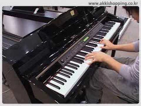 yamaha digital piano clp 280 youtube
