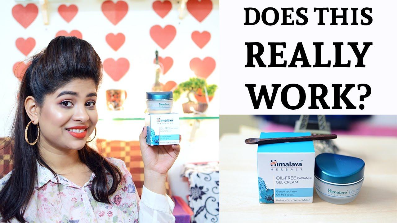 9b7fb552f43c Himalaya Herbals Oil Free Radiance Gel Cream Review   Payal Singh ...