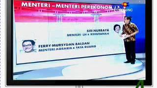 Daftar Susunan 34 Menteri Kabinet Kerja Jokowi-JK Untuk Indonesia