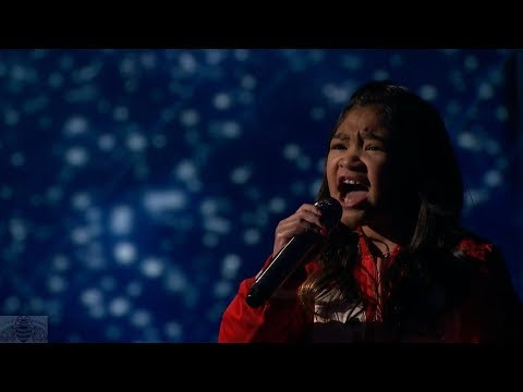 America's Got Talent 2017 Angelica Hale Performance & Comments Live Shows S12E13