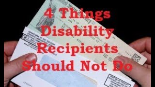 4 Things Social Secขrity Disability Recipients Should Not Do