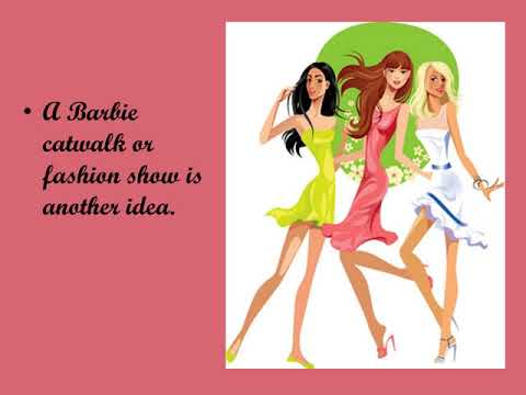 Barbie Theme Party... Entertainment And Games