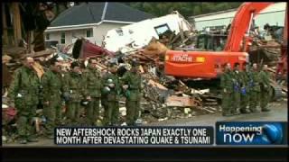 VIDEO: 6.6 Magnitude Aftershock Rocks Japan