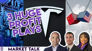 Semiconductors, Tesla and Trade War — 3 Huge Profit Plays