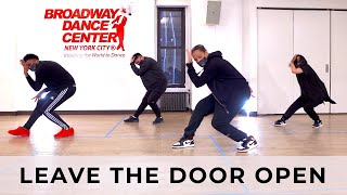 "Q Choreo | Silk Sonic (Bruno Mars, Anderson .Paak) - ""Leave The Door Open"""