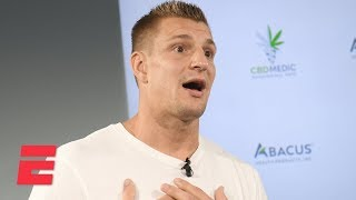 Rob Gronkowski gets emotional about football while announcing new career move | NFL on ESPN