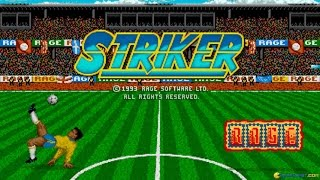 Striker gameplay (PC Game, 1992)
