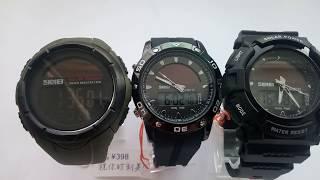 Какие часы Skmei с солнечной батареей 1405, 1064, 1050 лучше. Обзор, отзывы, инструкция на русском