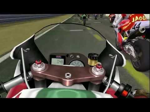 SBK2001 Honda VTR 1000 SPW Brands Hatch Amasing 2 Place On Board Camera