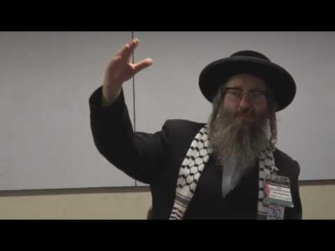 Anti Zionist Rabbi lecturing at University in Chile Spanish English