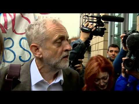 Jeremy Corbyn woos Scotland and has Edinburgh crowd in tears