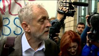 Jeremy Corbyn woos Scotland and has Edinburgh crowd in tears