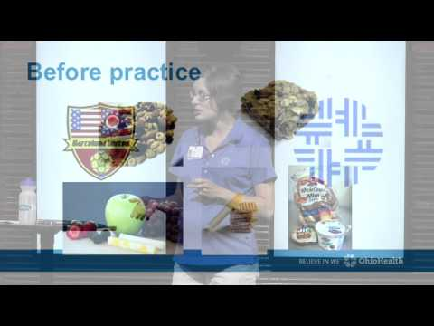 Barcelona United Lecture Series - Sports Nutrition