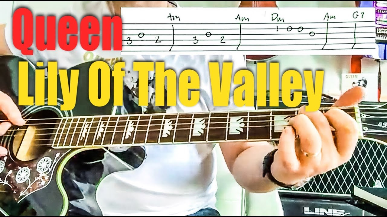 Queen Lily Of The Valley Acoustic Fingerstyle Guitar Guitar Tab