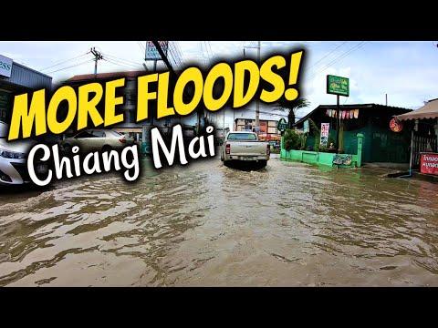 Floods In Thailand 2020 | Chiang Mai Heavy Rain