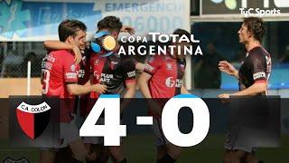 Copa Argentina: Colón 4-0 Sol de Mayo