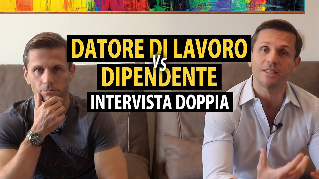 Download Intervista doppia: Datore di Lavoro - Dipendente | avv. Angelo Greco