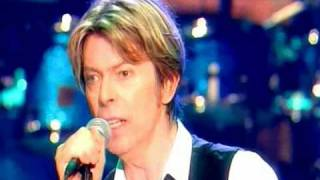 david bowie ashes to ashes live