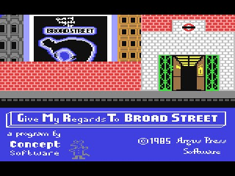 Give My Regards To Broad Street - Playthrough (C64)