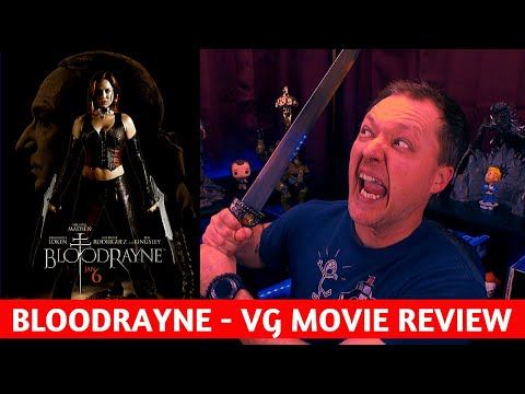 Bloodrayne Video Game Movie Review Youtube