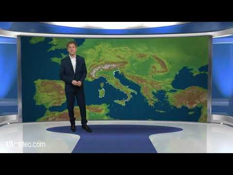 Previsioni meteo Video per sabato, 26 maggio