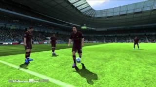FIFA 13 - Как бить штрафные удары. Видео урок(Больше деталей о FIFA 13 на сайте http://fifaonline.com.ua/ или вконтакте: http://vk.com/fifasoccer_news или в твиттере: https://twitter.com/#!/FIFAOnli..., 2012-10-09T11:25:31.000Z)