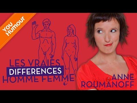 Anne ROUMANOFF, Les petites différences