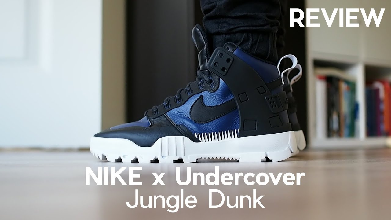 7293f4dc66c317 Non-Hyped Sneakers  Nike X Undercover Jungle Dunk Review A Good Winter Boot
