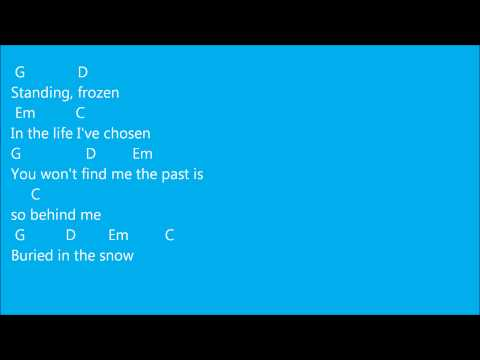 Let it go Demi Lovato lyrics + chords (guitar, ukulele, ...)