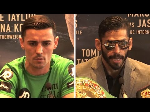 Linares v Crolla II Press Confernce - Crolla Aiming To Take Back Title
