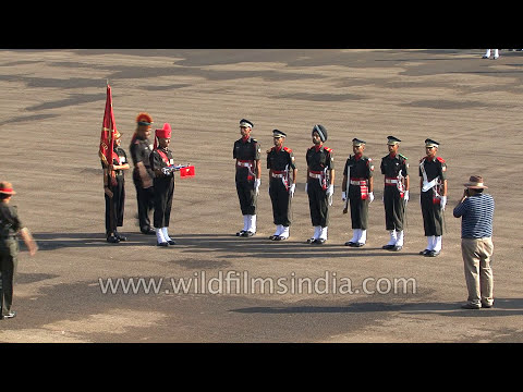 Gift of the Sword: At the Army parade